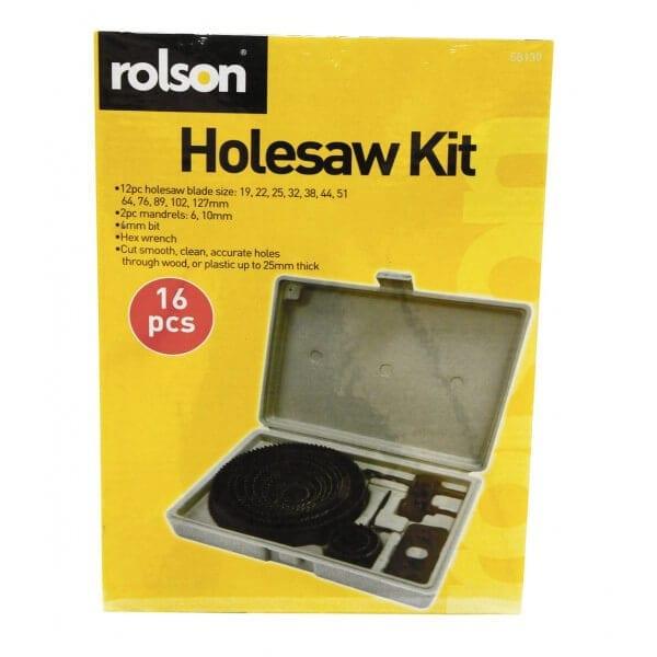 , 16pc Holesaw Set