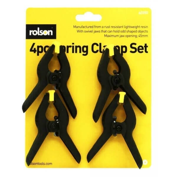 150mm Rolson Steel Spring Clamp
