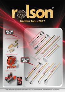 Garden Tools Brochure 2017